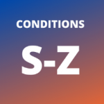 Conditions S-Z