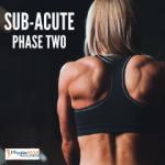 Upper Back Sub-Acute